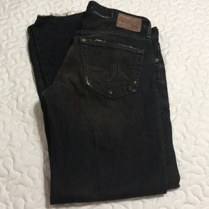 AG Adriano Goldschmied slim straight jeans, 31